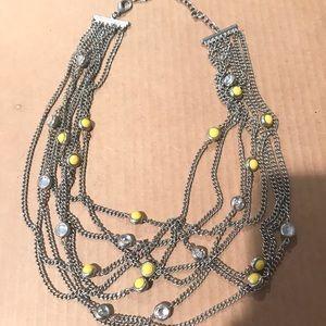 Loft Multi chain necklace